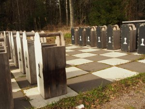 Oversized Chess Pieces