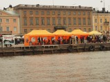 These orange tents are filled with market delights