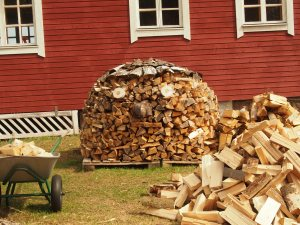 Wood Stack Art